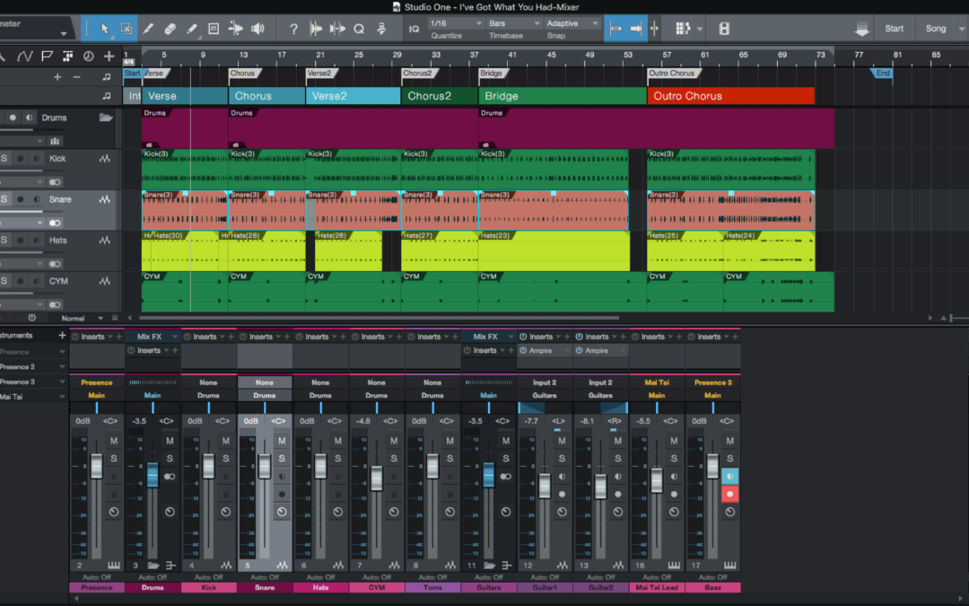 Studio One – 5 Quick Ways It Streamlines Your Workflow