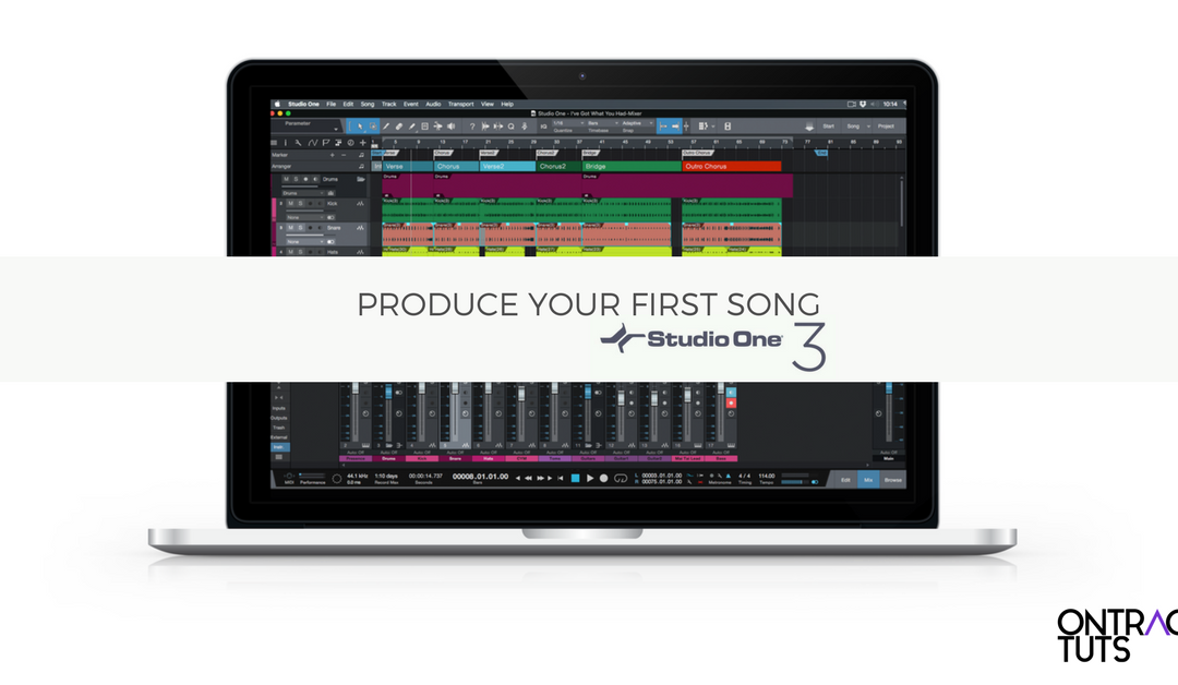 Produce Your 1st Song in Studio One