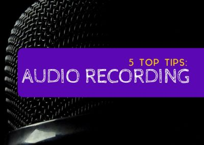 5 Top Audio Recording Tips