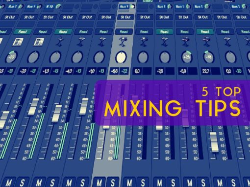 5 Top Mixing Tips
